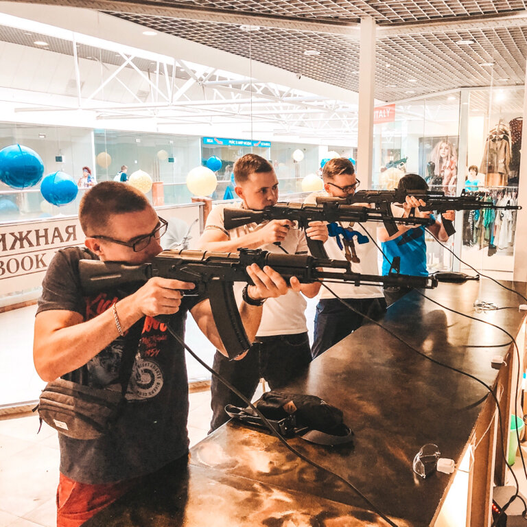 стрелковый клуб, тир — Gun Quest Club — Москва, фото №3