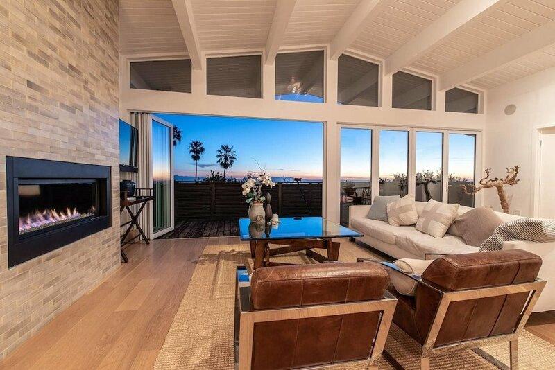 Beautifully Designed Palos Verdes Villa w Private Beach and Stunning Views