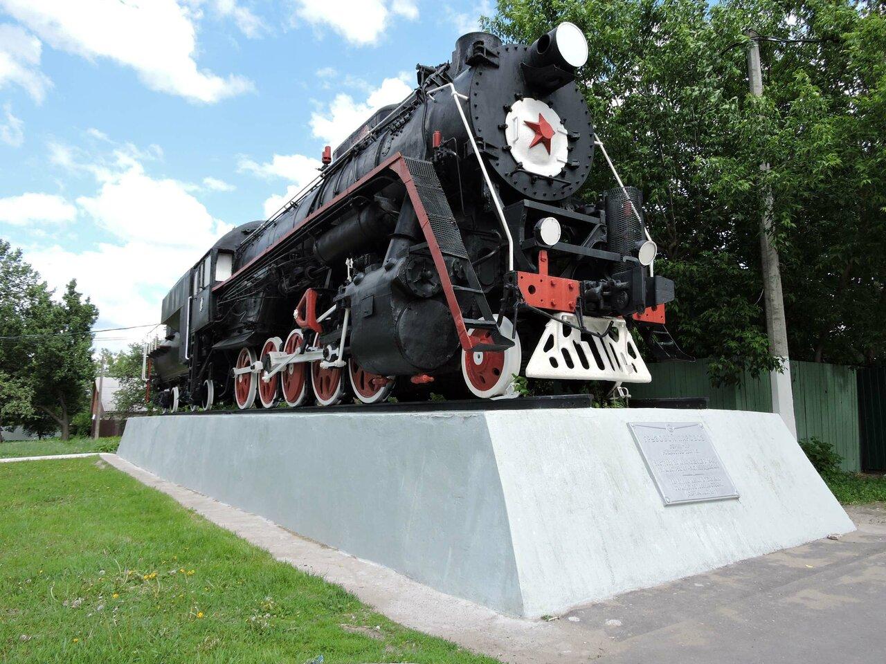 паровоз памятник в москве фото карту посмотреть обвиняется принуждении сделке