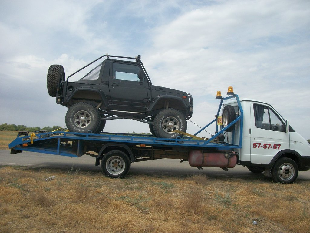 автотехпомощь, эвакуация автомобилей — Автоэвакуатор_575757 — Астрахань, фото №2