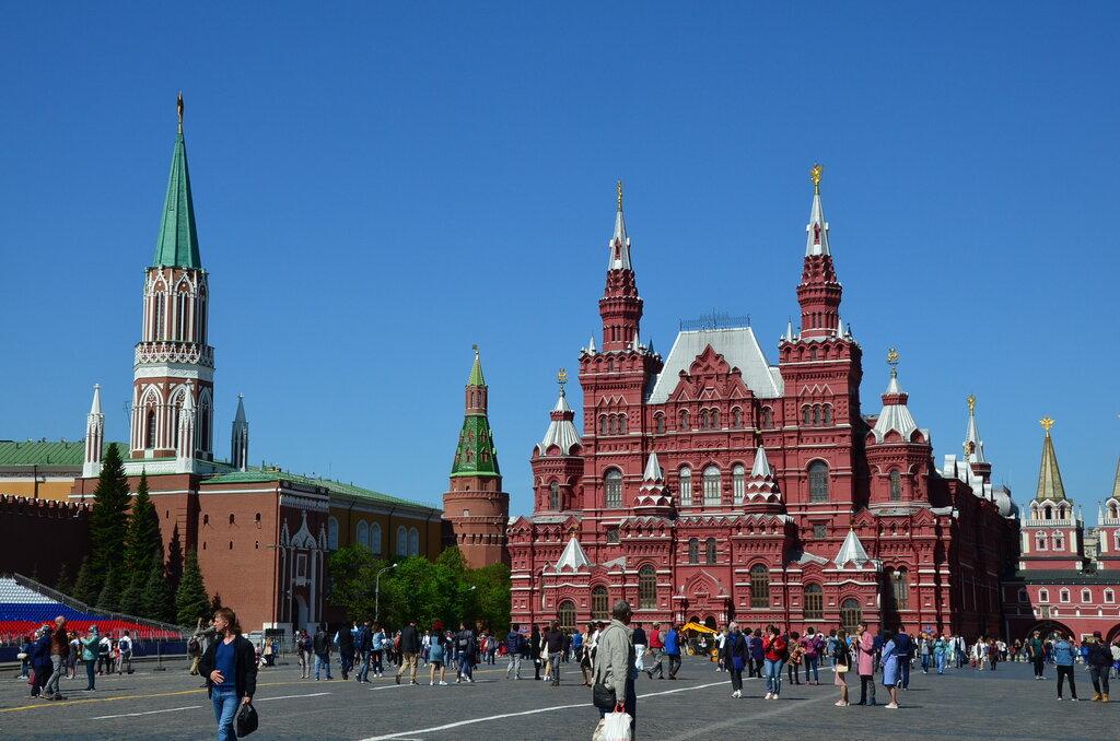 достопримечательность — Никольская башня — Москва, фото №6