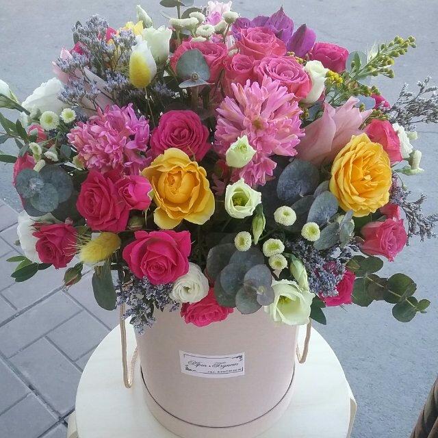 Салон цветов арт букет орск, корзины цветов
