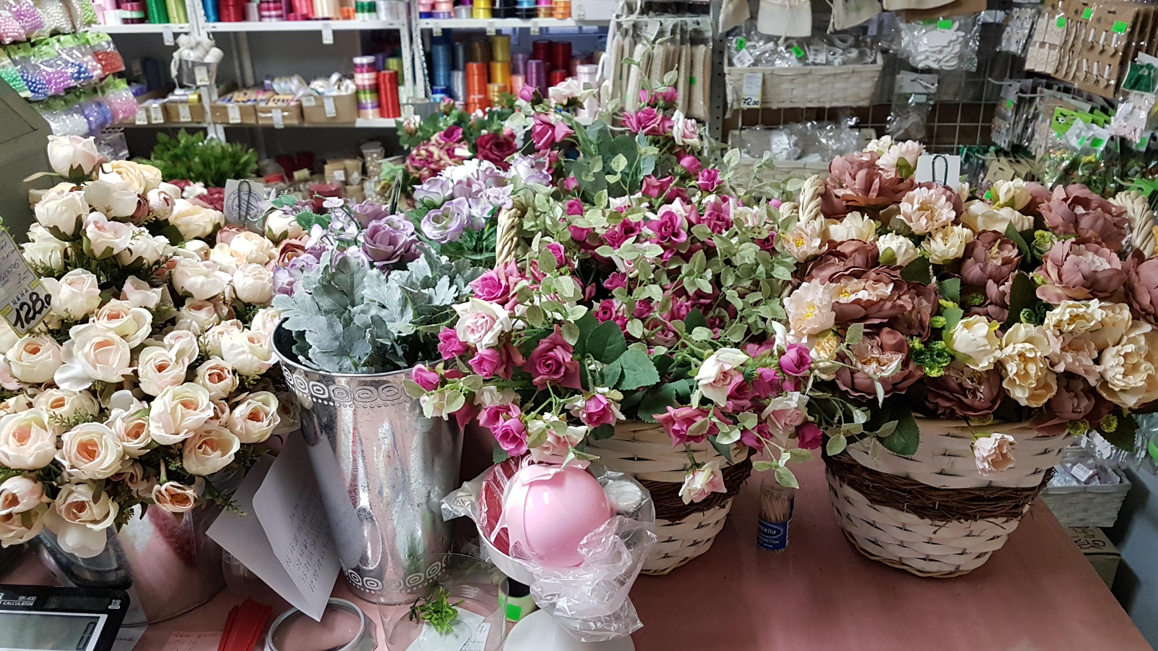 Искусственные цветы оптом, софийская улица, санкт-петербург, цветов дом уфа