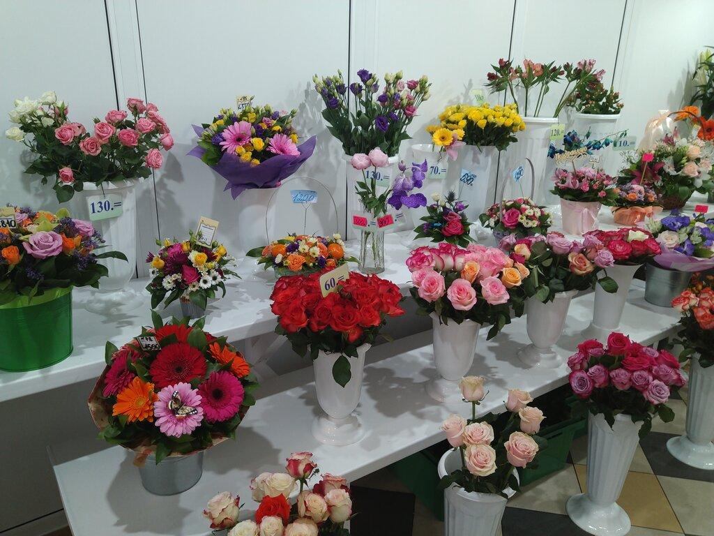 Магазин цветы город кола