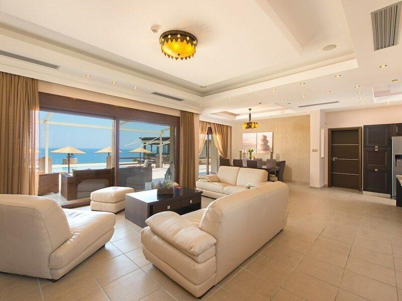 Luxurious sea View Villa Pasithea in Rhodes Greece