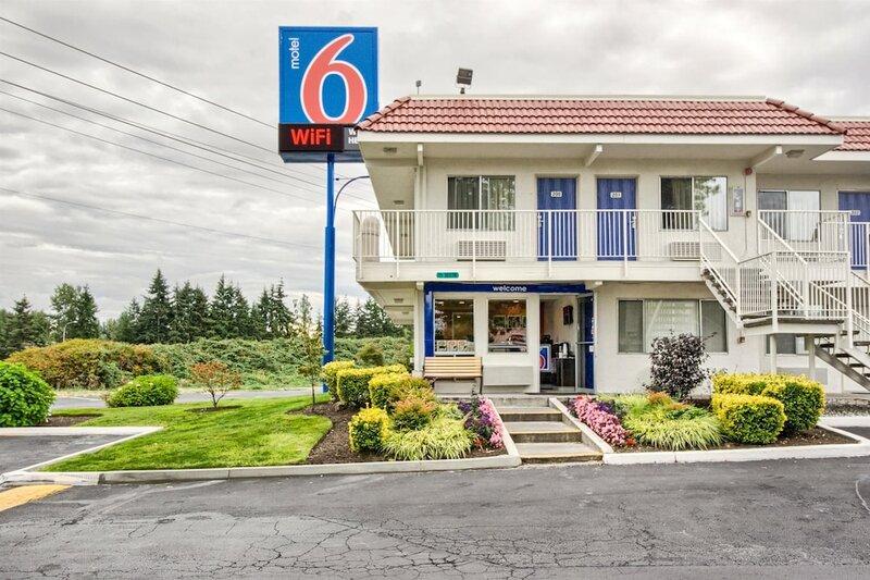 Motel 6 Everett, Wa - South