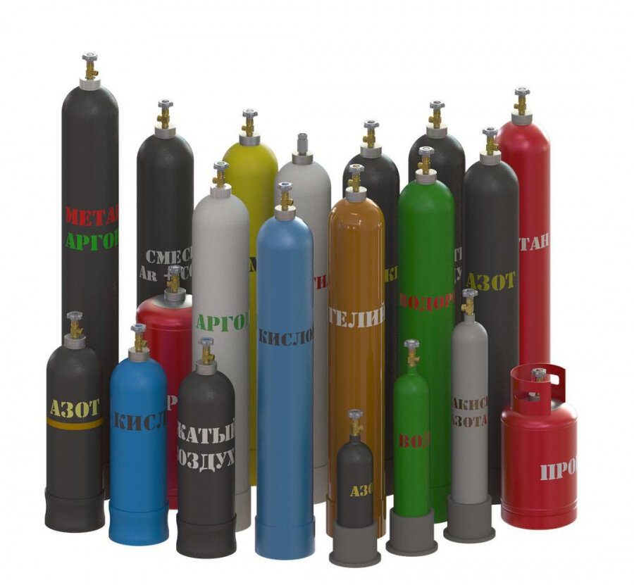 газы газовые смеси
