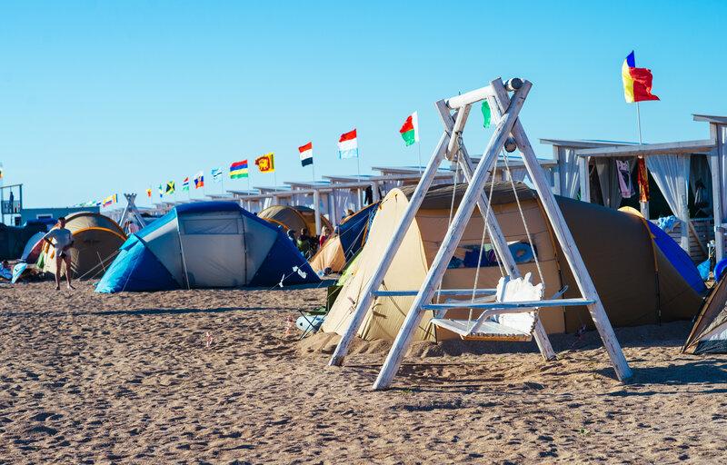 Пляж Азовский