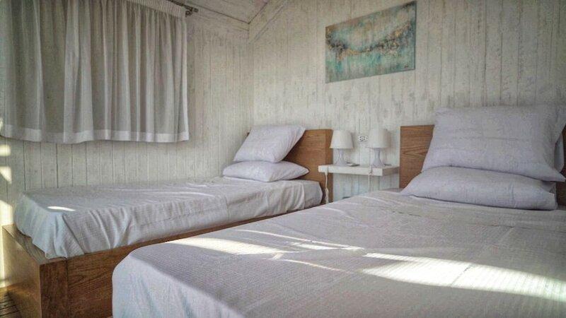 Nirvana Wellness Huts - White bay