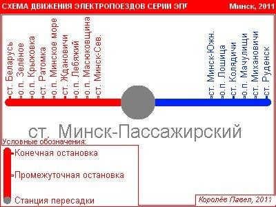 железнодорожный вокзал — Минск-Пассажирский — Минск, фото №1
