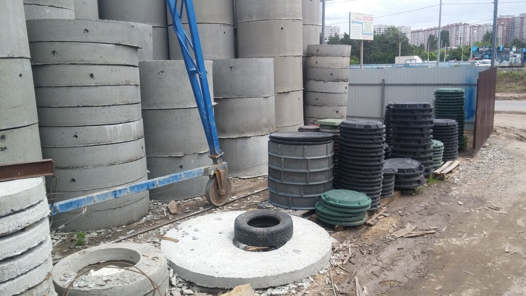 кольца жби для канализации доставка и установка