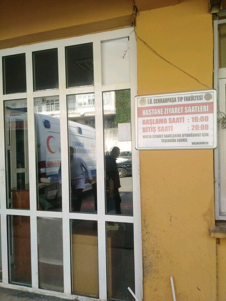 poliklinikler — İstanbul Üniversitesi Cerrahpaşa Tıp Fakültesi Üroloji Servisi — Fatih, foto №%ccount%
