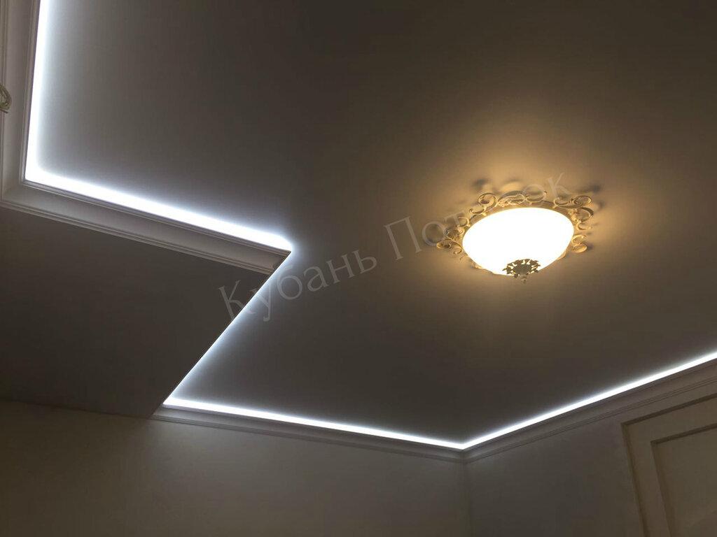 натяжные и подвесные потолки — Кубань Потолок — Краснодар, фото №2