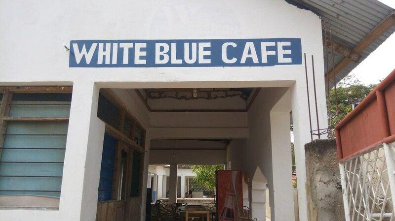 White Blue Bungalows