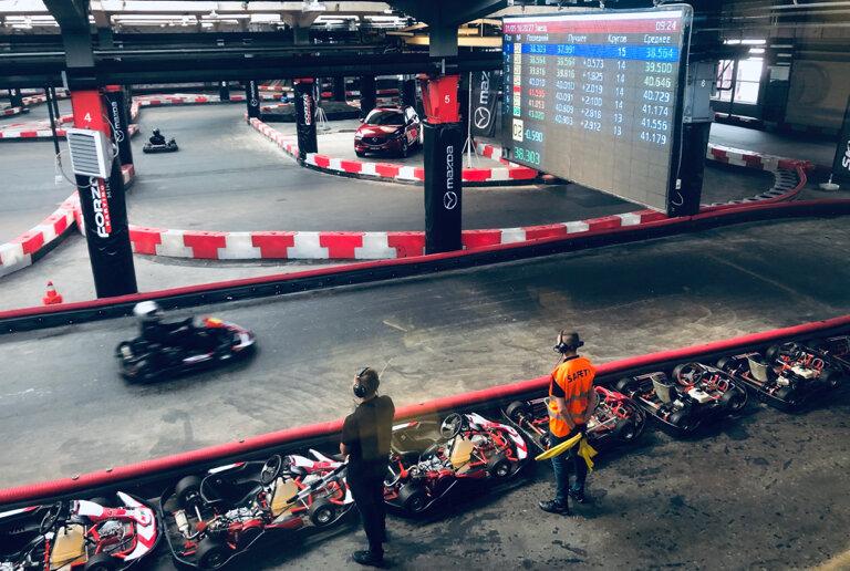 картинг — Forza Karting — Москва, фото №4
