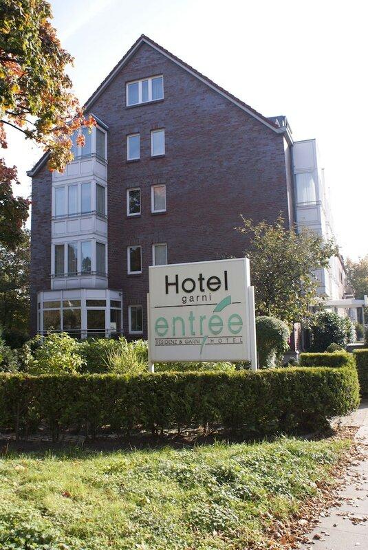 Entrée Hotel Groß Borstel