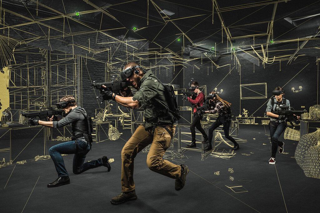 клуб виртуальной реальности — Anvio — Москва, фото №1