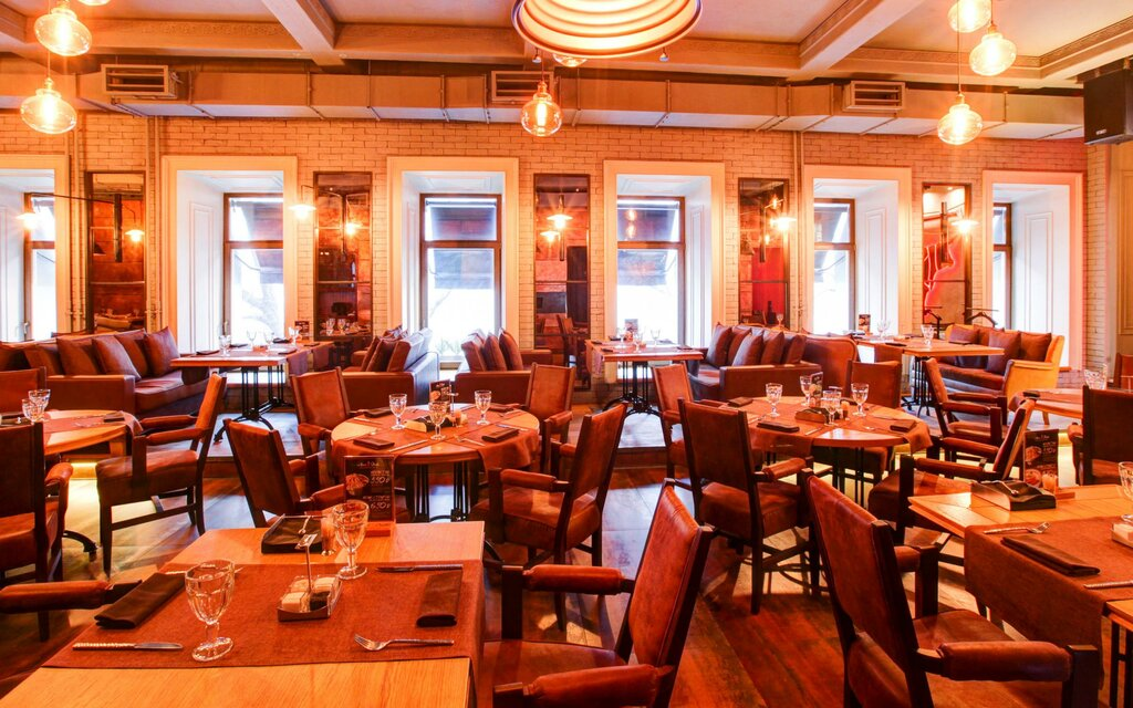 ресторан — Ресторан Мясо & Рыба — Москва, фото №2