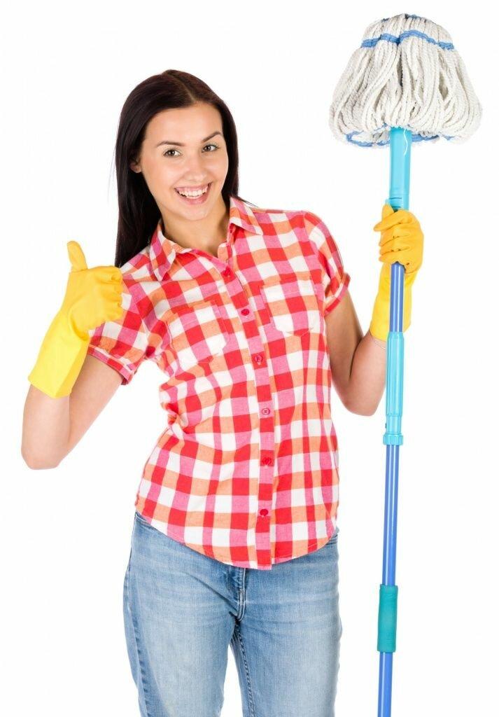 Картинка по уборке квартир