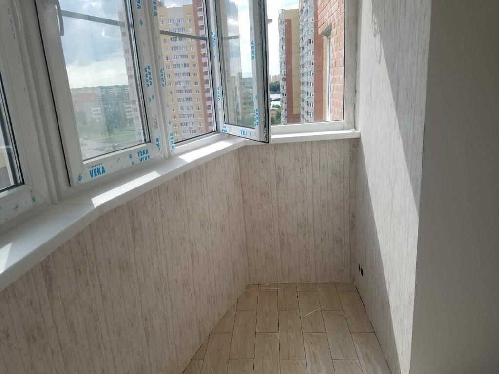 Отделка балконов курск фото