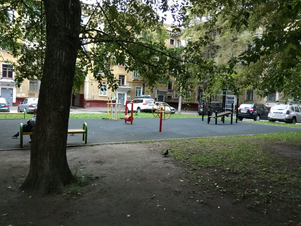 sports activity location — Спортивная площадка — Moscow, фото №3
