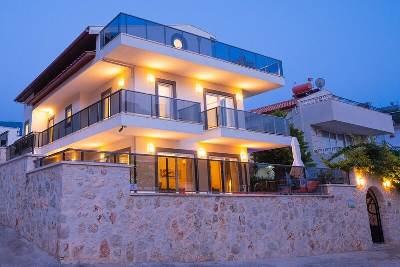 Villa With 5 Bedrooms in Kalkan, With Wonderful sea View, Private Pool, Terrace