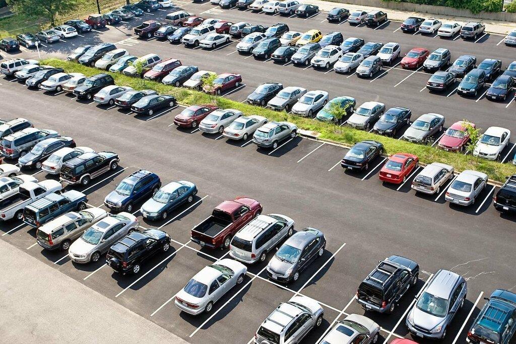 Картинка автомобильная стоянка