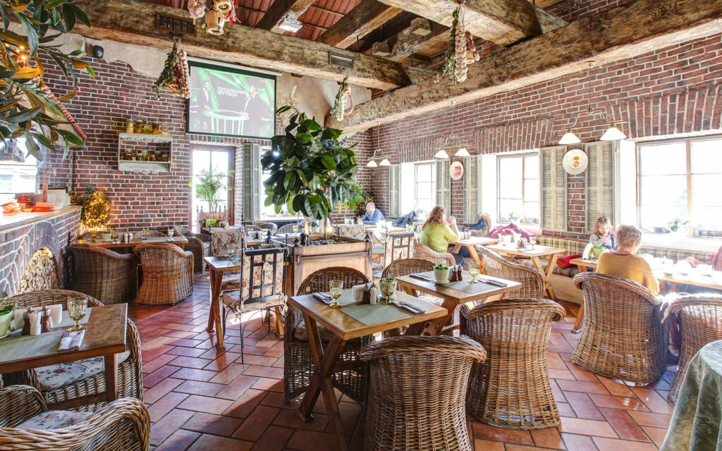 ресторан — Итальянский ресторан Villa della Pasta — Москва, фото №4