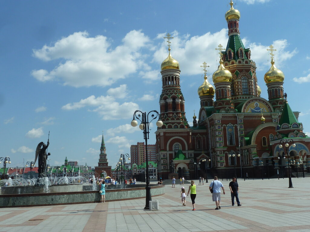 православный храм — Кафедральный собор Благовещения Пресвятой Богородицы — Йошкар-Ола, фото №8