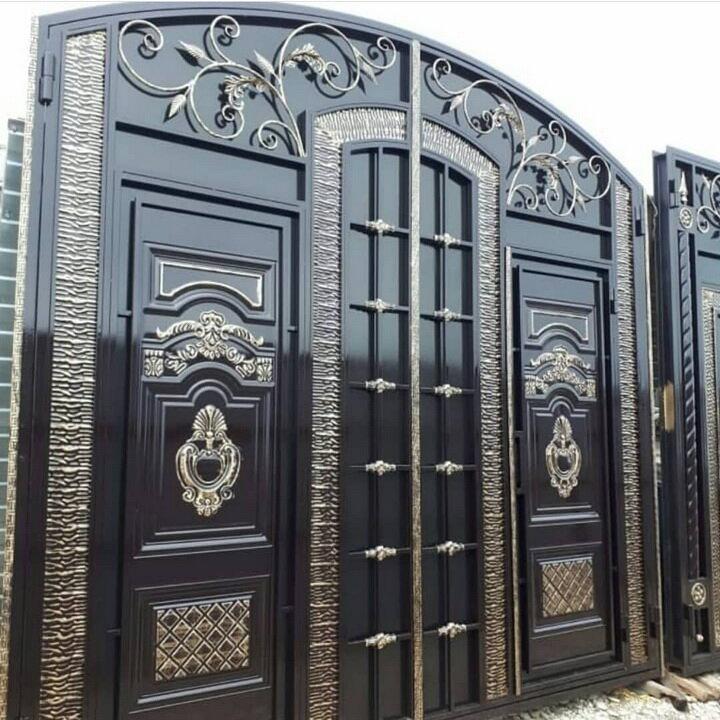 Ворота для частного дома фото в узбекистане