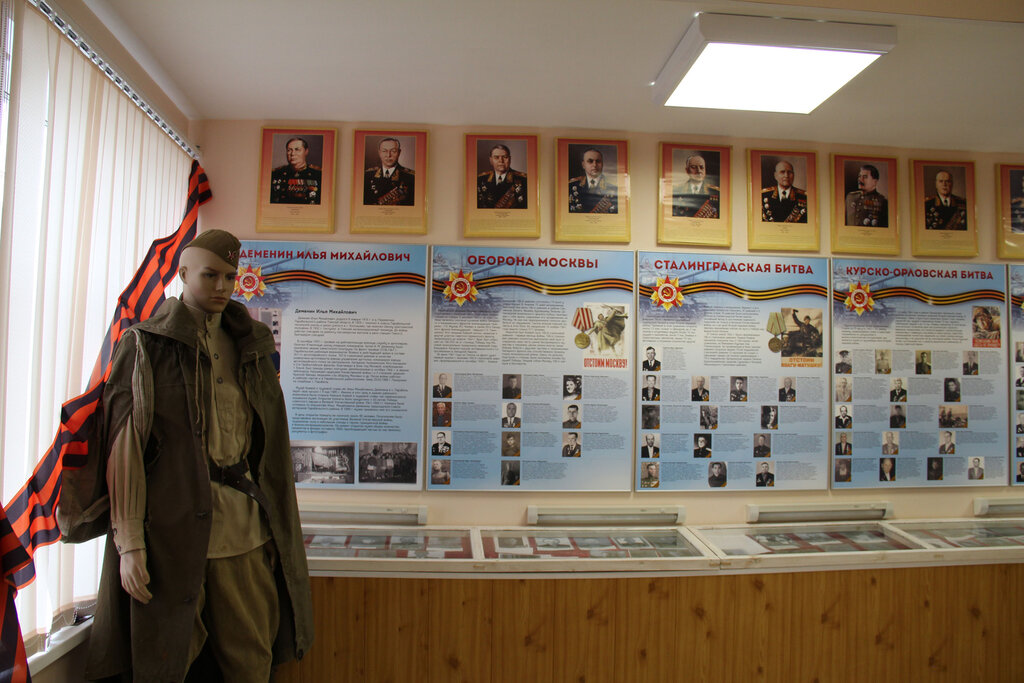 оформление музеев боевой славы в фотографиях стаса
