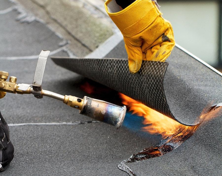 технология покрытия крыши технониколем