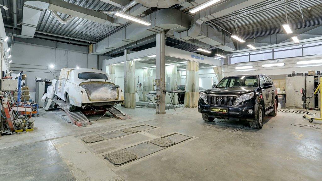 кузовной ремонт — Центр кузовного ремонта AutoCorso — Москва, фото №1
