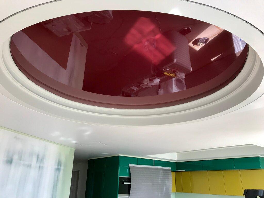 цвета натяжного потолка фото кухня жизни все