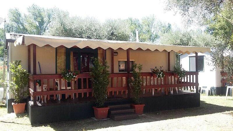 Bungalow Mobilehome Camping Eden Park