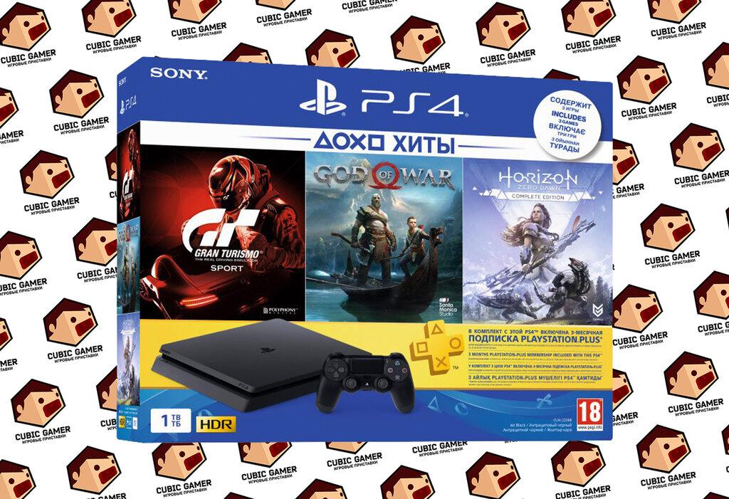 игровые приставки — Cubic Gamer консоли PlayStation 4 — Симферополь, фото №1