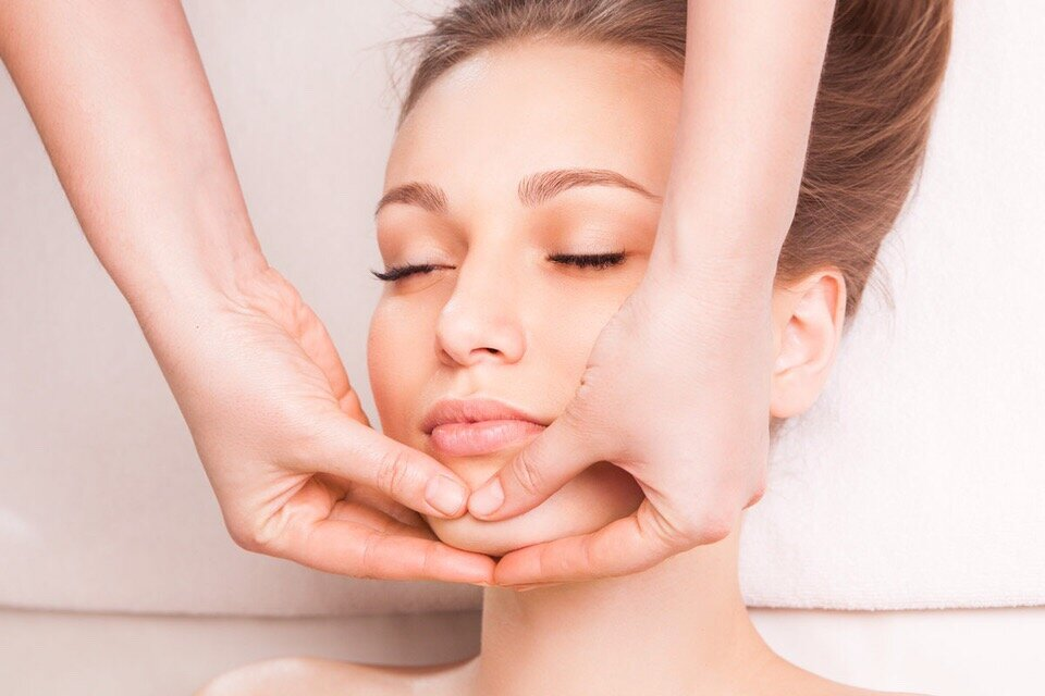 массаж лица в анапе