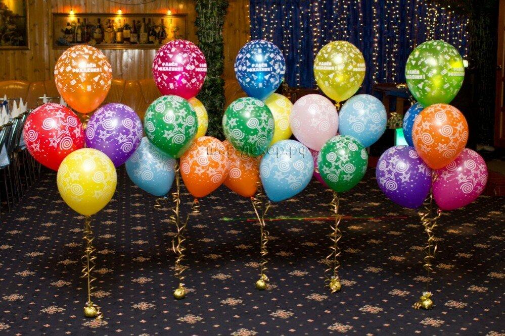 Оформление праздников шарами картинки