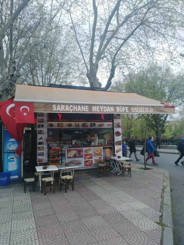 fast food — Saraçhane Meydan Büfe — Fatih, foto №%ccount%