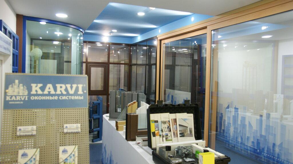 светопрозрачные конструкции — Карви — Южно‑Сахалинск, фото №1