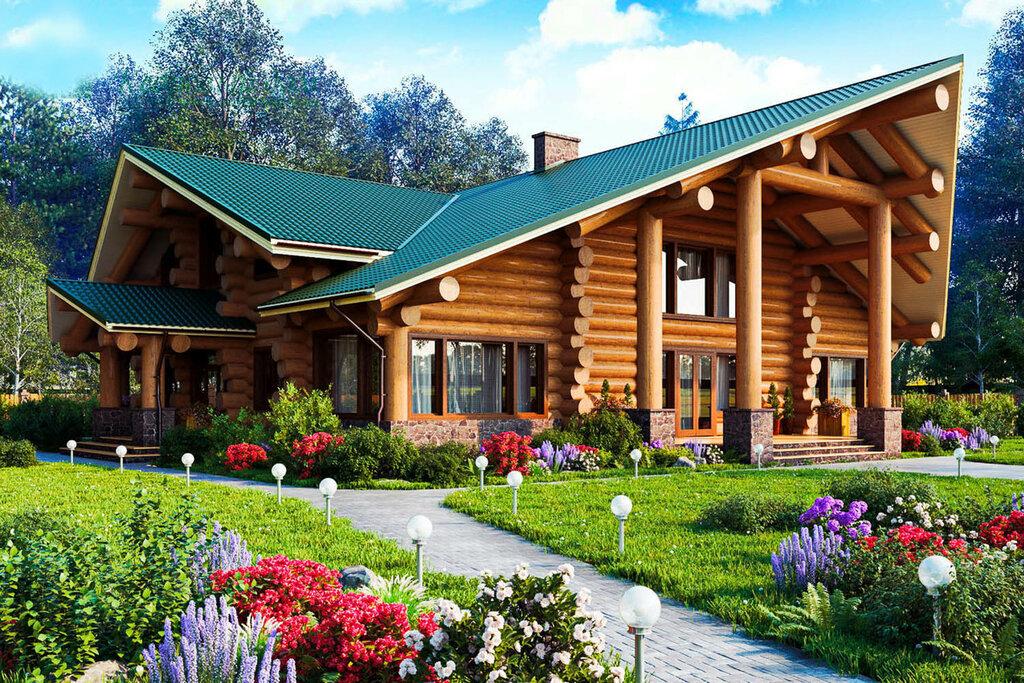 Дом рубленый картинки