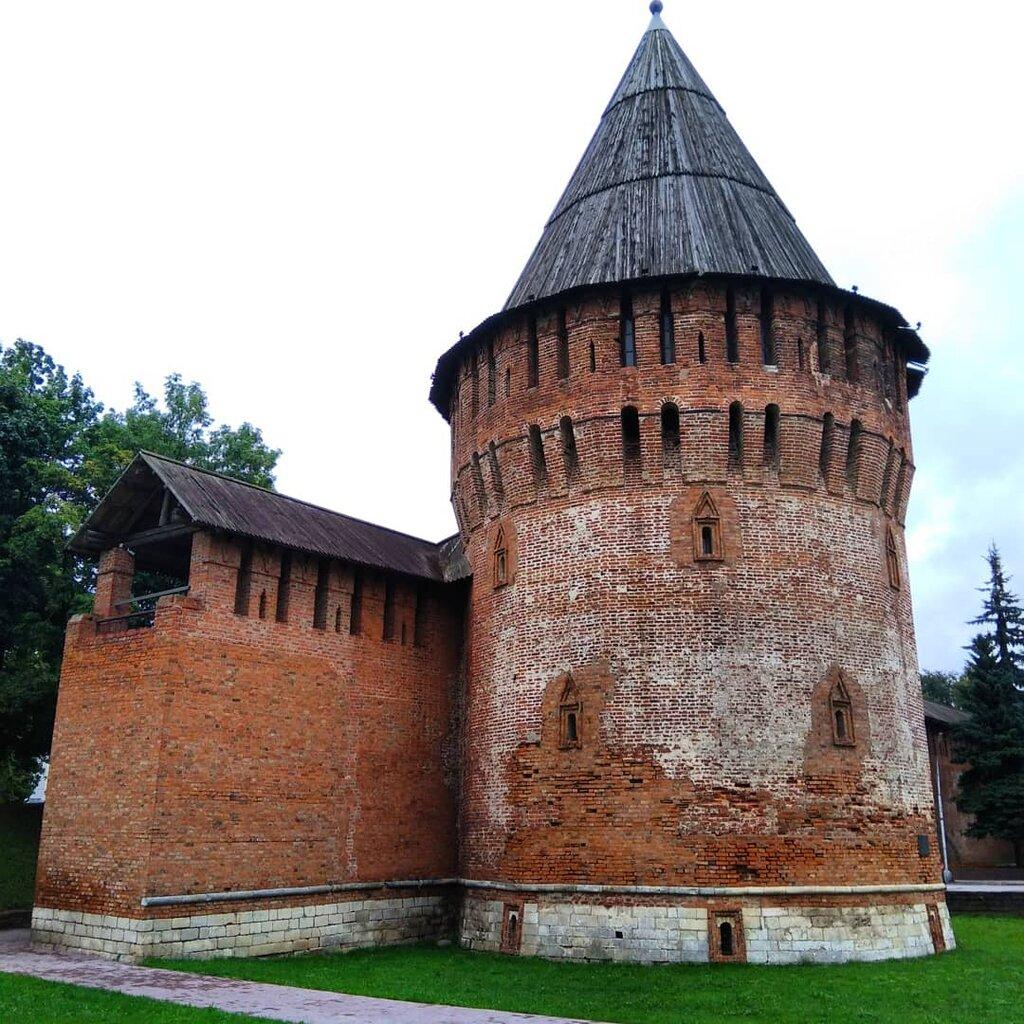 достопримечательность — Смоленская крепостная стена — Смоленск, фото №2
