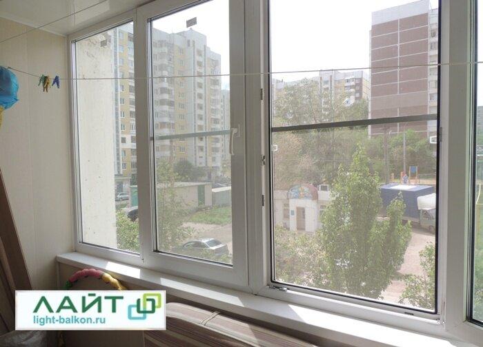 остекление балконов и лоджий — Лайт — Самарская область, фото №1