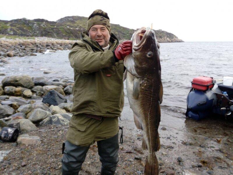 Рыбалка на ура губе