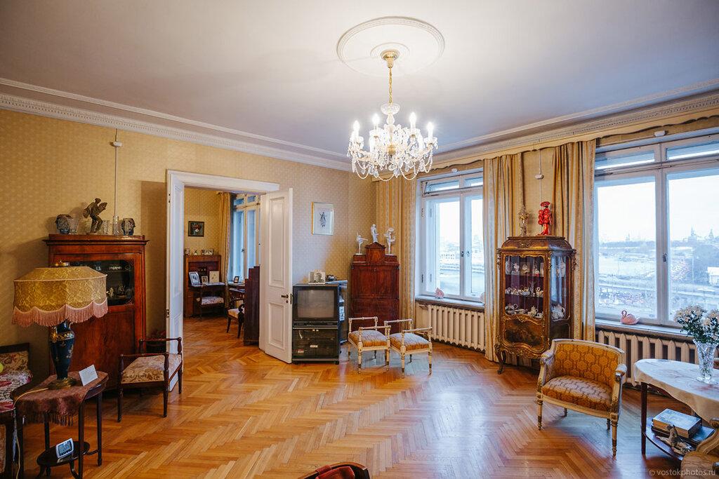 учреждении фото квартиры московской высотки мантл