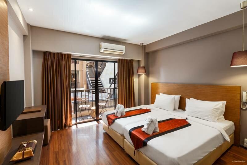 Отель The Cottage Suvarnabhumi