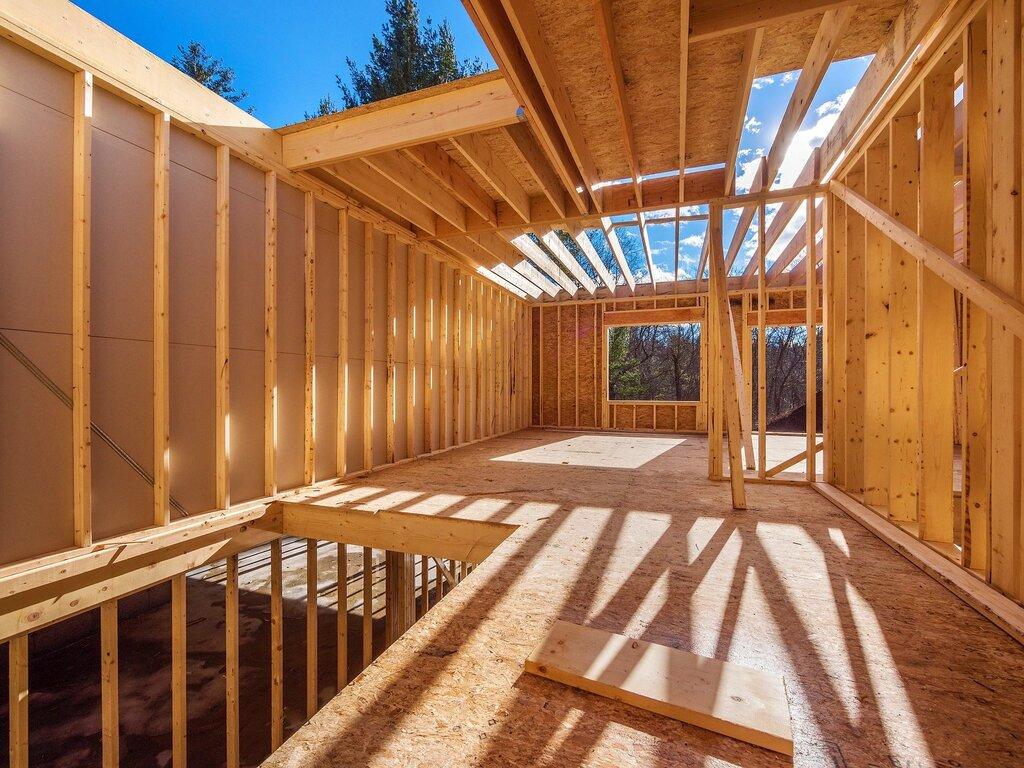 выполнена фото конструкция каркасных домов для декора
