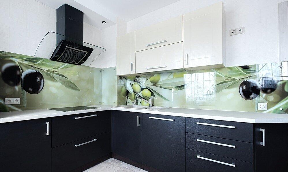 что образцы стеклянных фартуков для кухни фото сфотают только