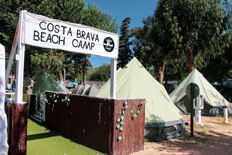 Barcelona Costa Brava Beach Camp