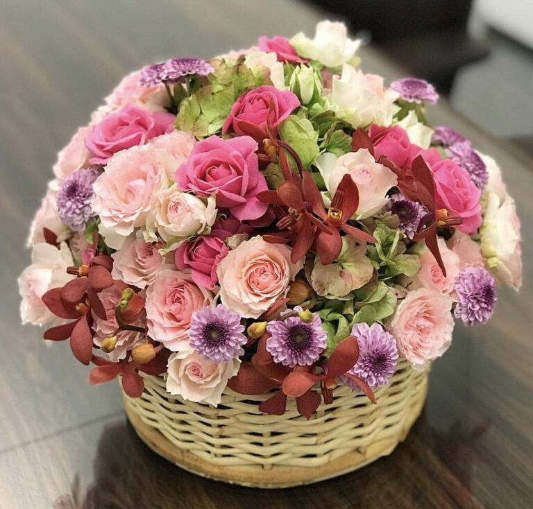 Доставка цветов в городе красногорск